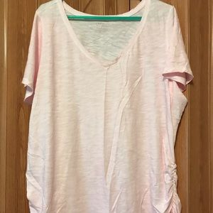 NWOT light pink Lane Bryant T-shirt - Size 18/20